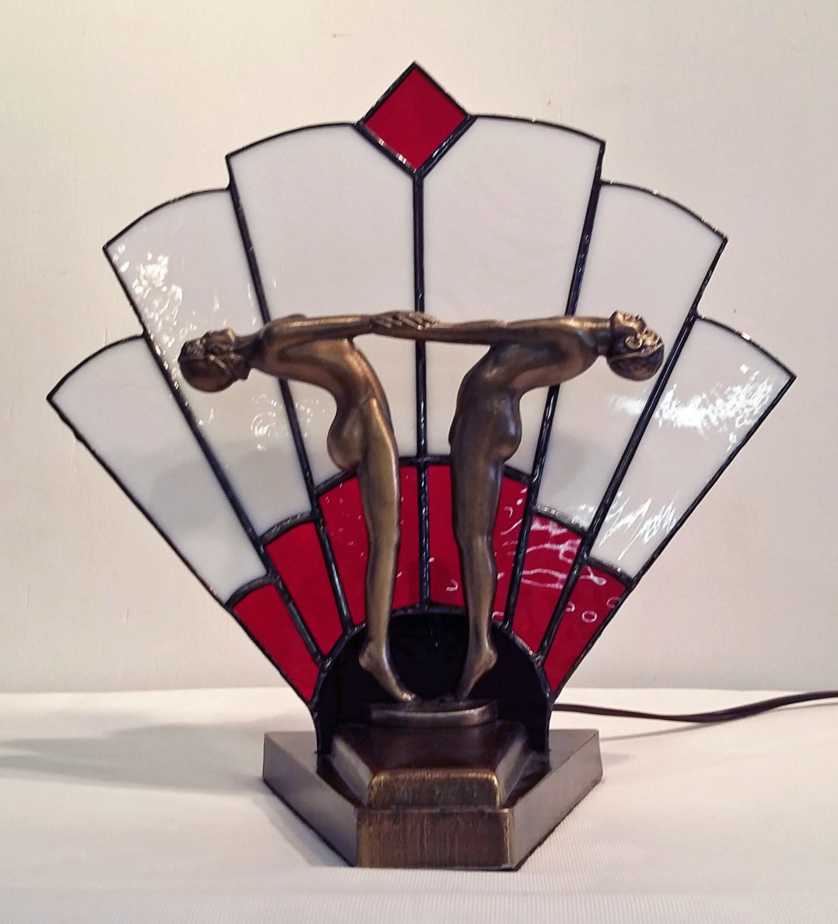Two Dancers Lamp ~ $175