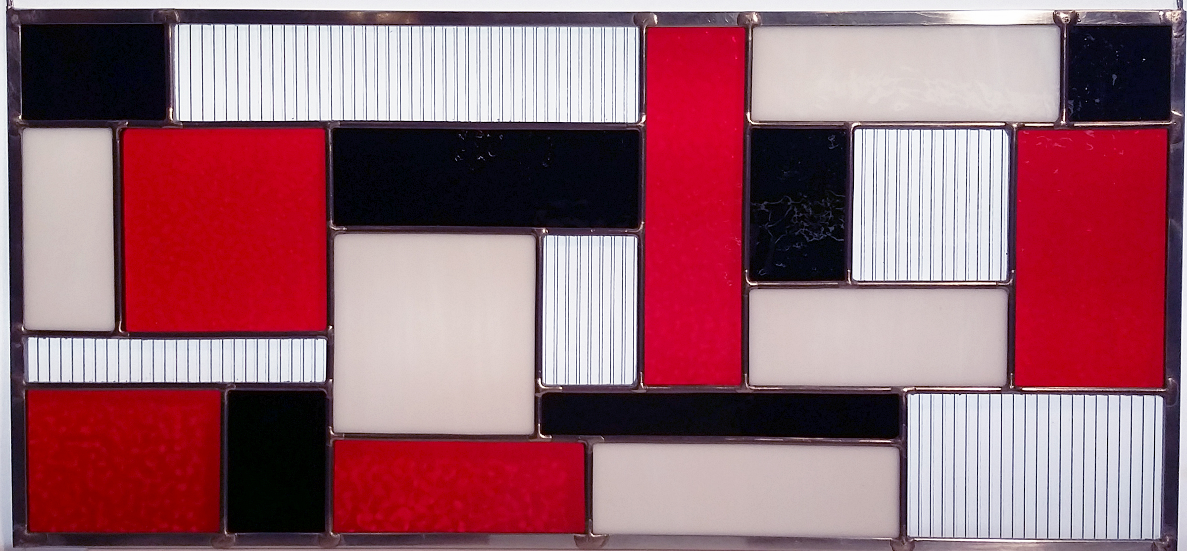 "Mondrian Style ~ 10"" x 22"" ~ $130"