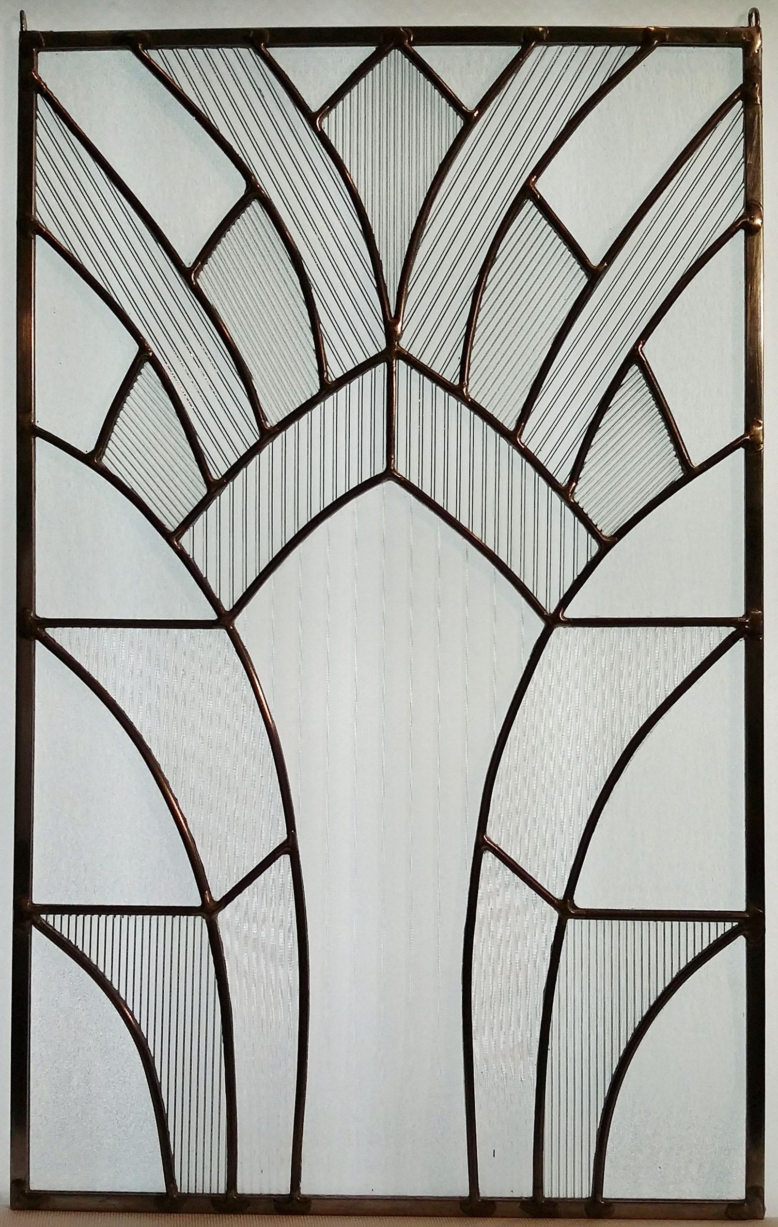 """Art Deco Arches ~ 12"""" x 19"""" ~ $170"""