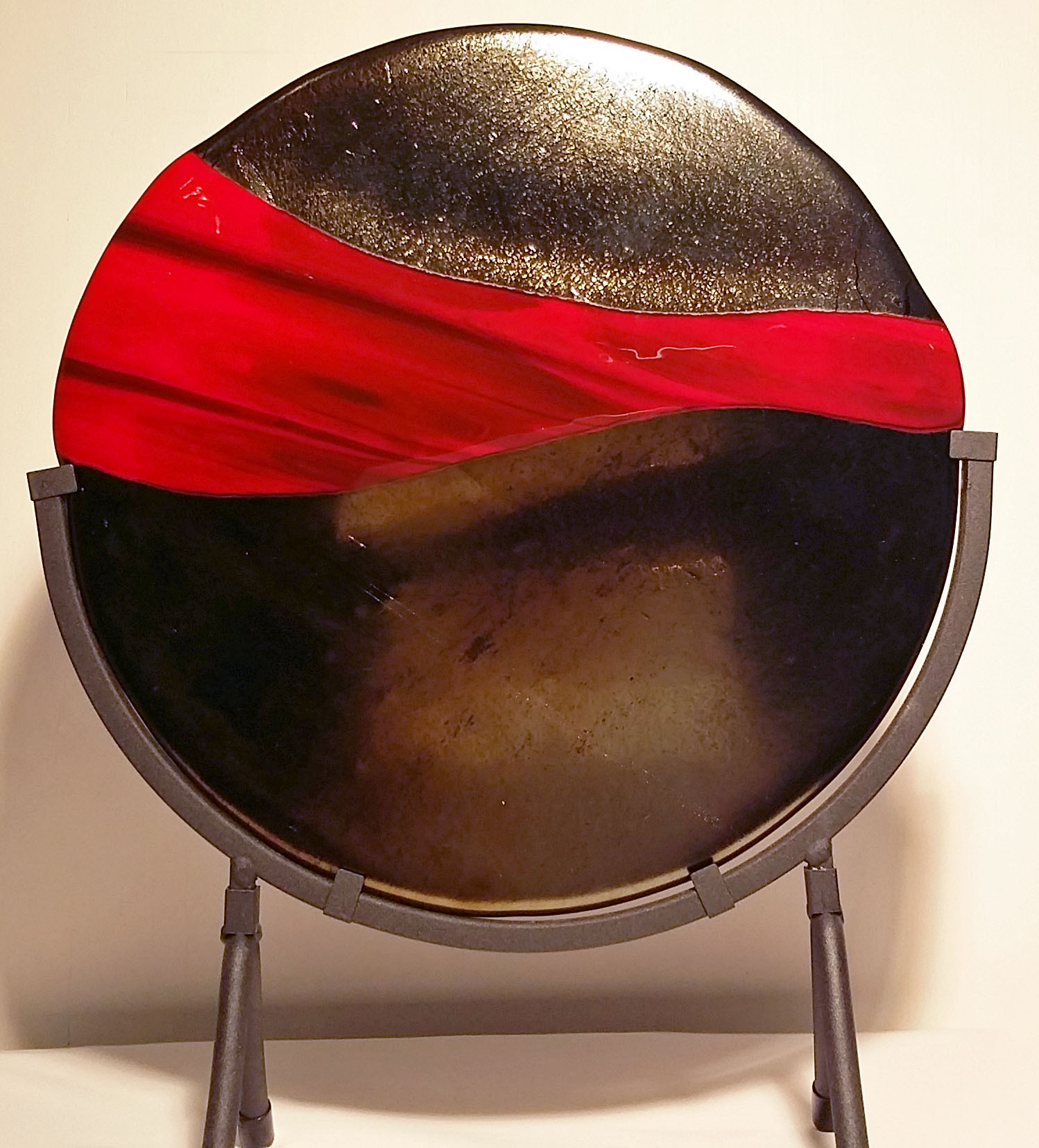 """To Another Place ~ 12"""" Round ~ $165"""