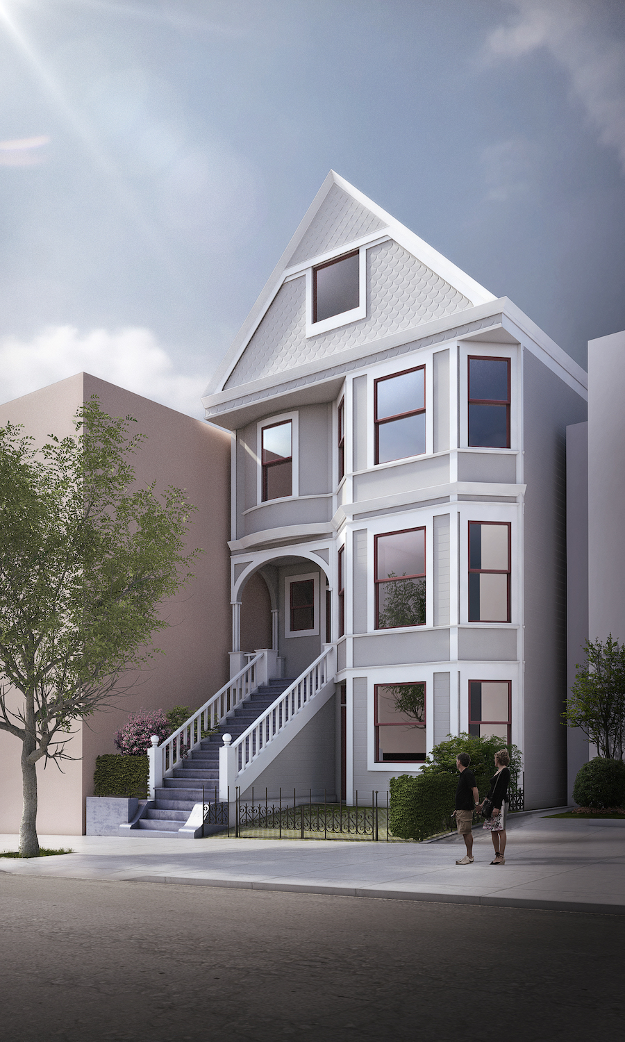 21st street secret garage door entire facade rendering san francisco.jpg