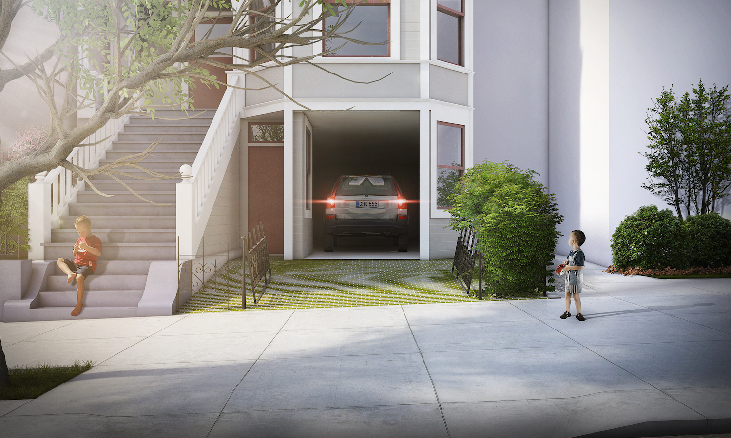 21st street secret garage door open facade rendering san francisco.jpg