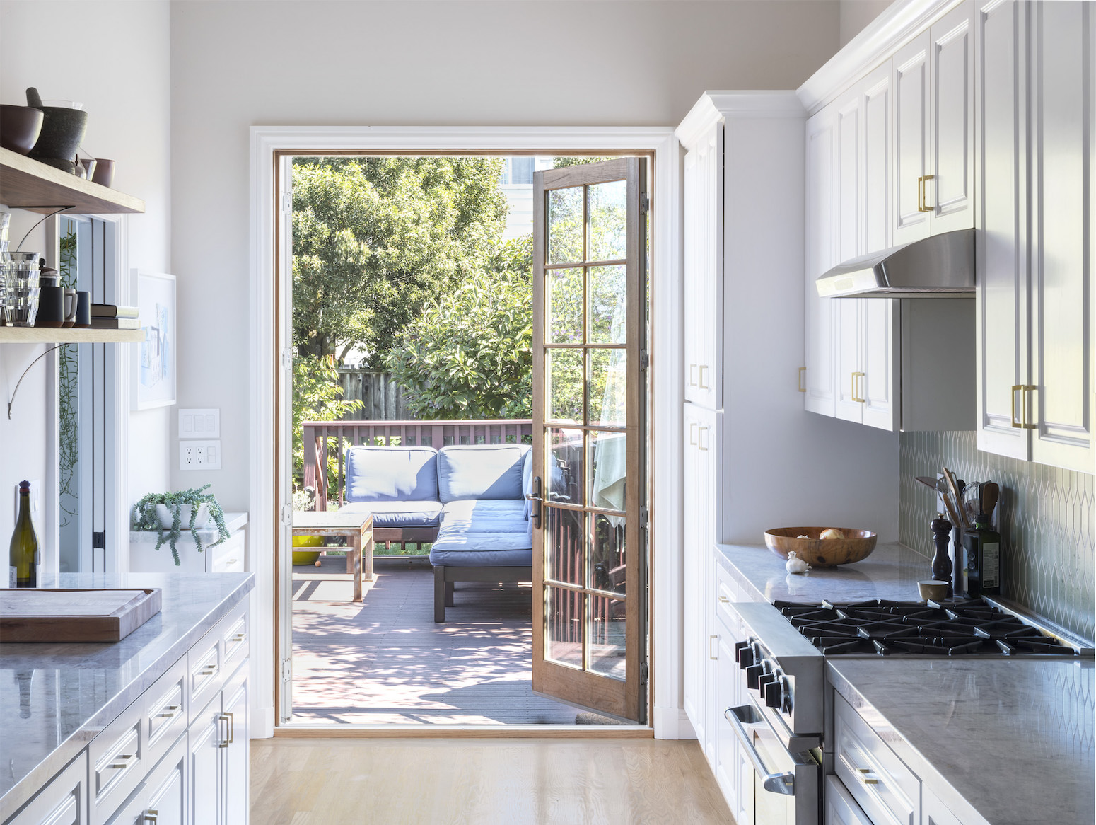 Remodeled Kitchen + Deck