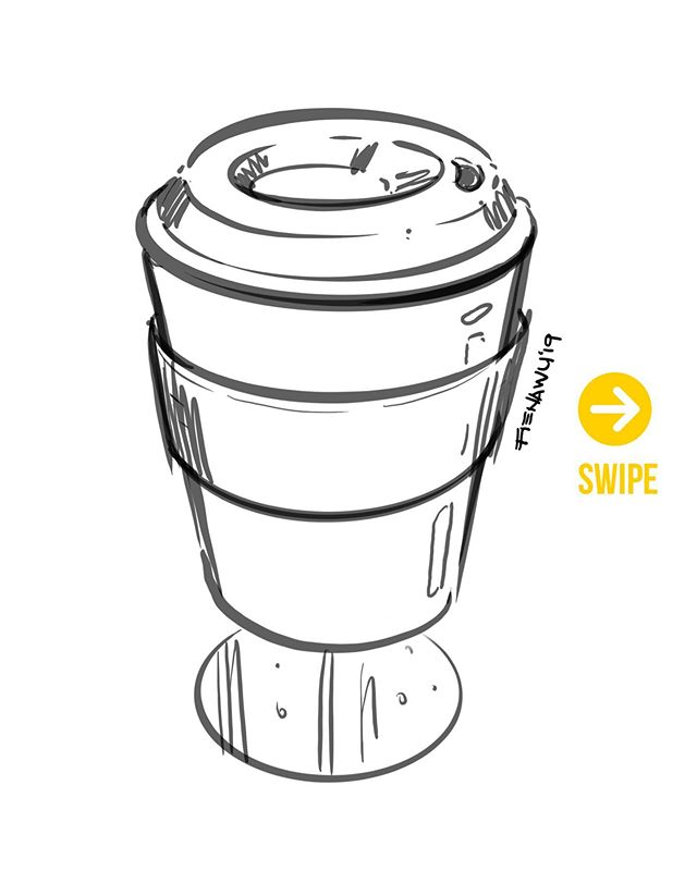 Cup of Nonsense | 2min #quicksketch | SWIPE to see #timelapse | Showed an engineer how I #sketch and he recorded it and edited the video | it wasn't even my iPad | I'm not even going to tag the person cuz I'm a trash human being 😂 | But my laziness is grateful though lol . . . #id #idsketch #sketch #sketchdaily #dailysketch #pensketch #designsketch #designer #industrialdesign #productdesign #designlife #工业设计 #nycdesigner