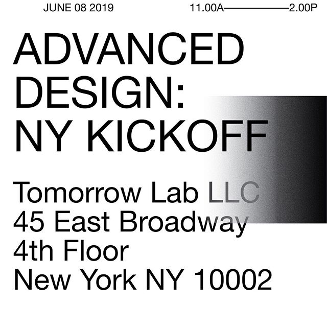 06-08-2019 LES NYC | Thanks @adv_des for inviting me to be one of the speakers at Advanced Design's NY KICKOFF event! | Come see me and other nyc designers talk in front of people! | This event is FREE and open to the public | if you have any questions, contact hello@advdes.org . . . #id #idsketch #advanceddesign #design #nycdesigner #designer #industrialdesign #industrialdesigner #designlife #idsketching #designing