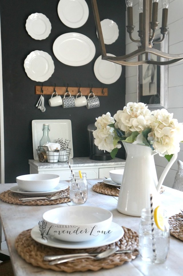 Farmhouse Kitchen Reveal from  Seeking Lavender Lane