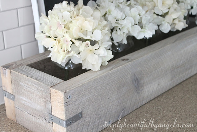 DIY Industrial Planter from  Simply Beautiful By Angela