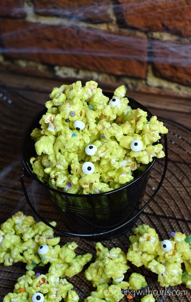Monster Mash Popcorn from  Cooking with Curls
