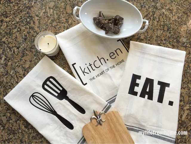 DIY Kitchen Towels from  My Life From Home