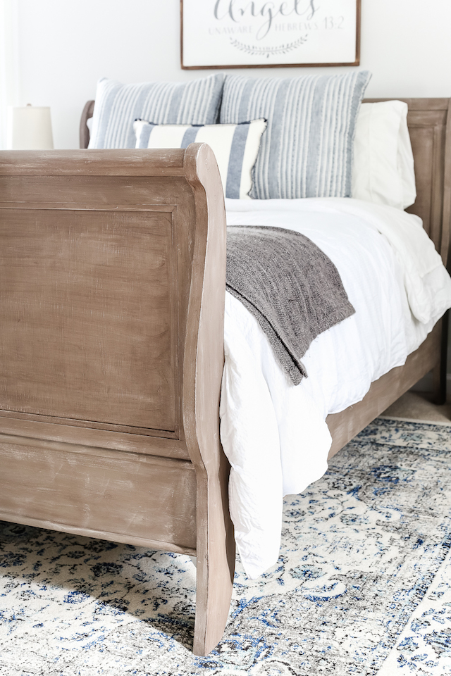 Painted Bed from  Blesser House