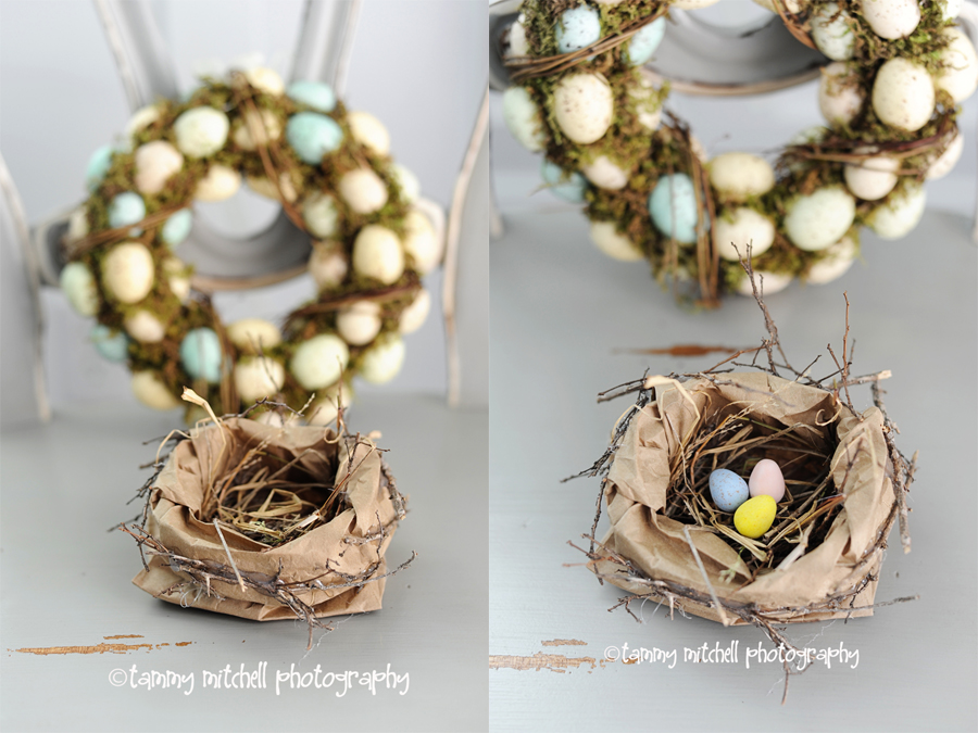 Easter Nest Craft from  Pink Peppermint Design
