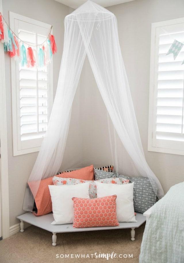 Tween Girl Bedroom from  Somewhat Simple