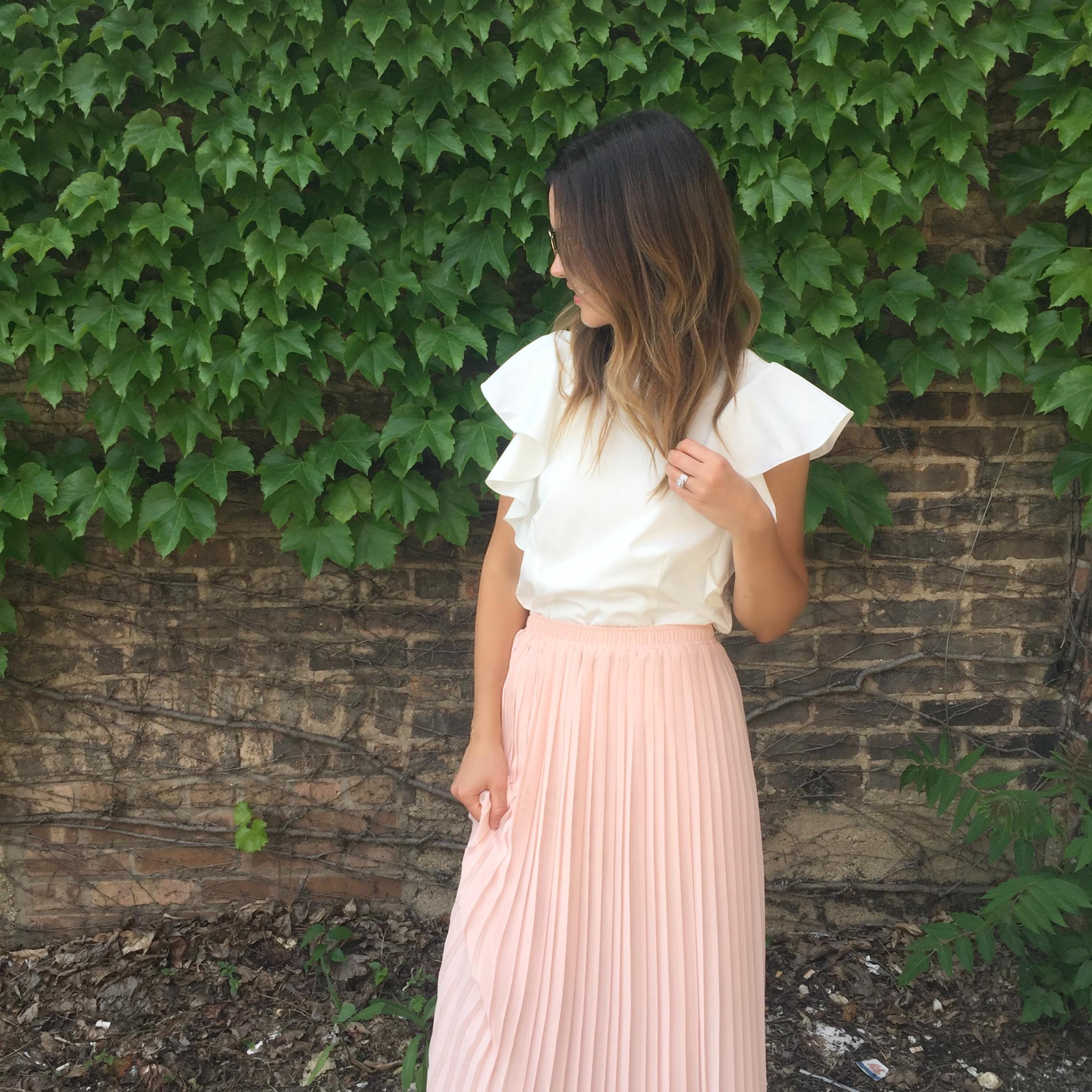 top c/o:  here  skirt:  similar