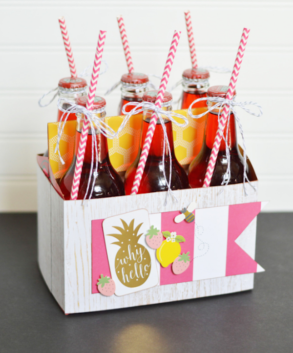 Dressed up Summer Soda from  The Happy Scraps