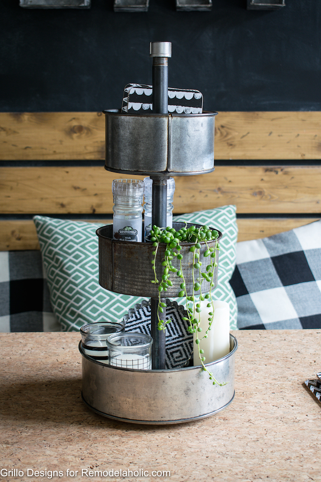 DIY Tiered Stand from  Remodelaholic