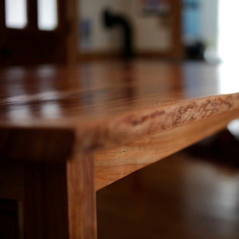 Custom Cherry Farmhouse Table
