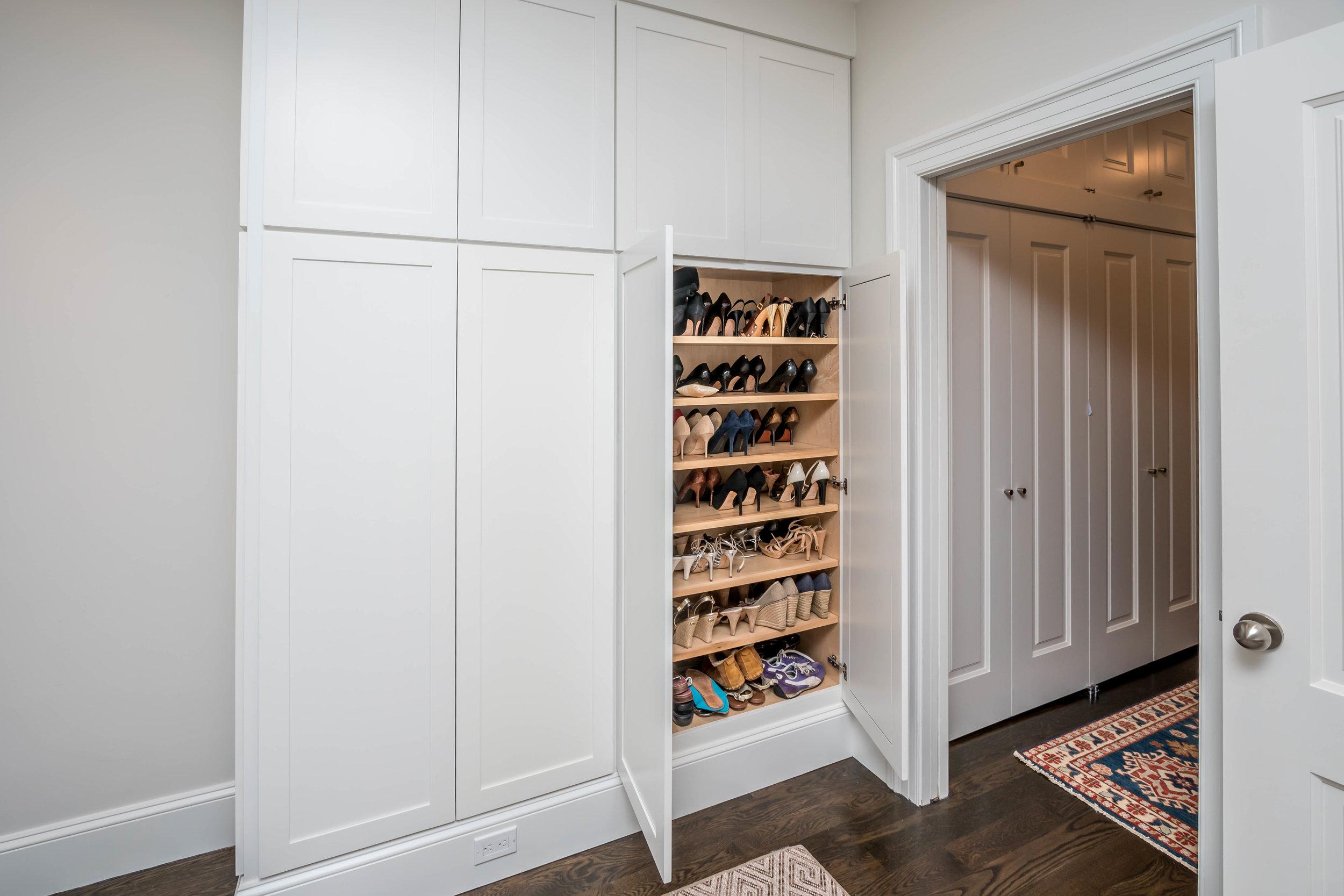 Bedroom Built-in Cabinetry