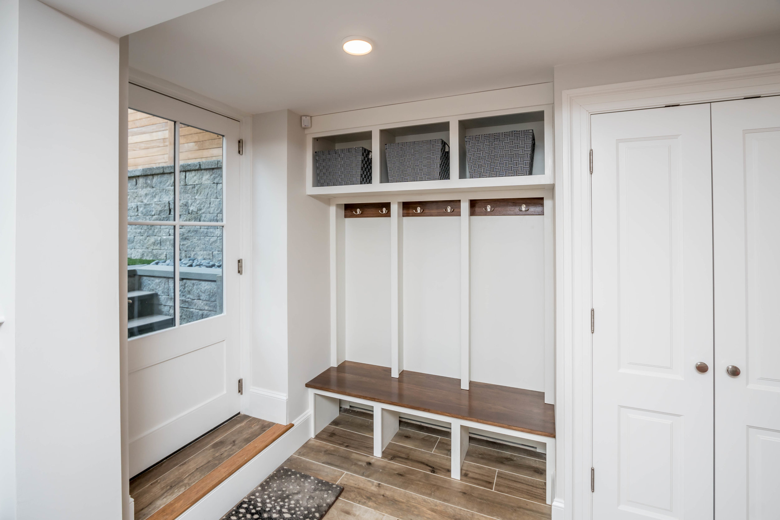Mudroom Built-Ins and cabinetry