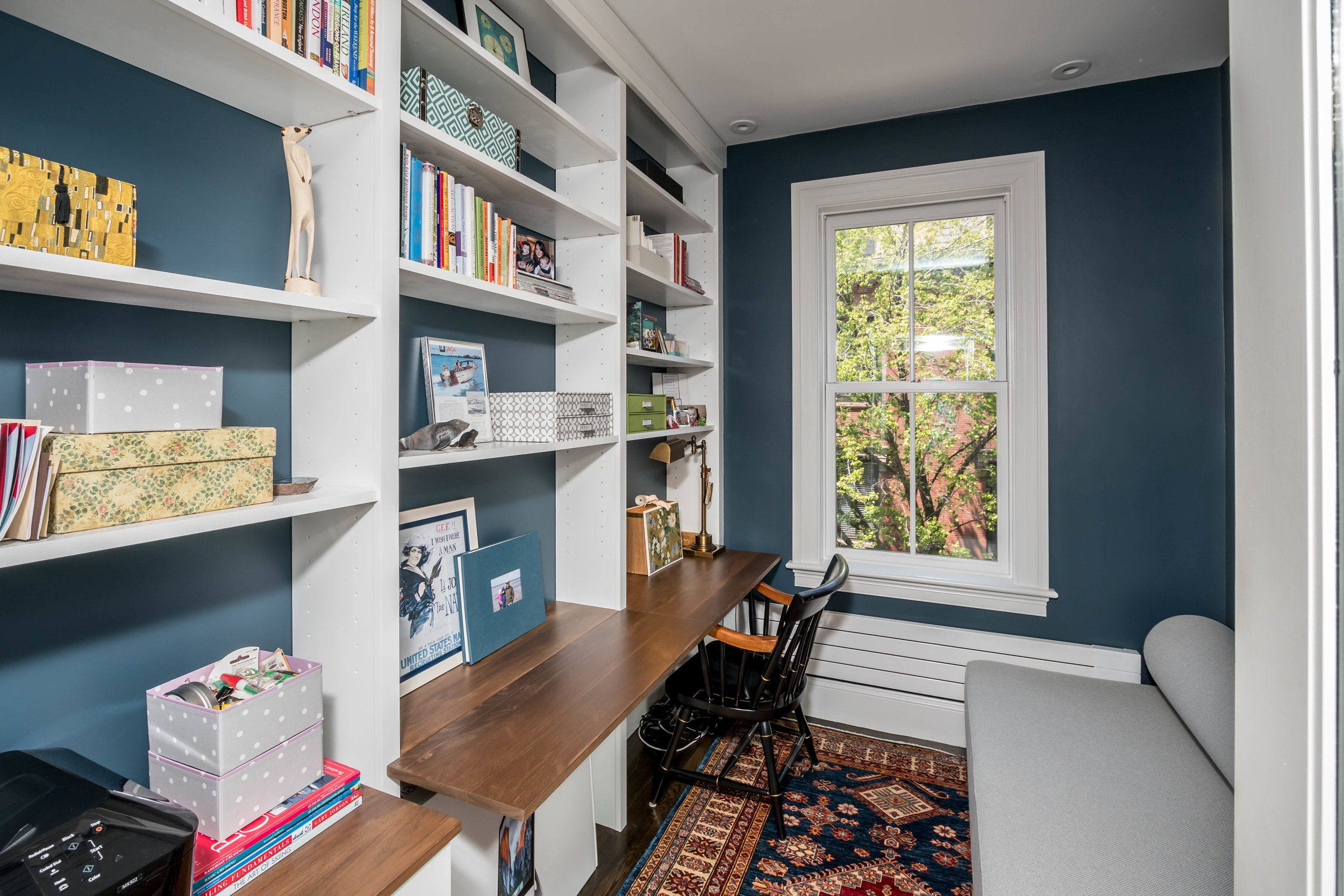 Custom Home Office Built-Ins