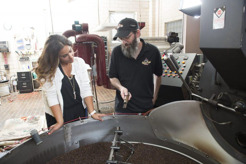 Alyza Bohbot, founder & owner of City Girl Coffee CREDIT: CITY GIRL COFFEE