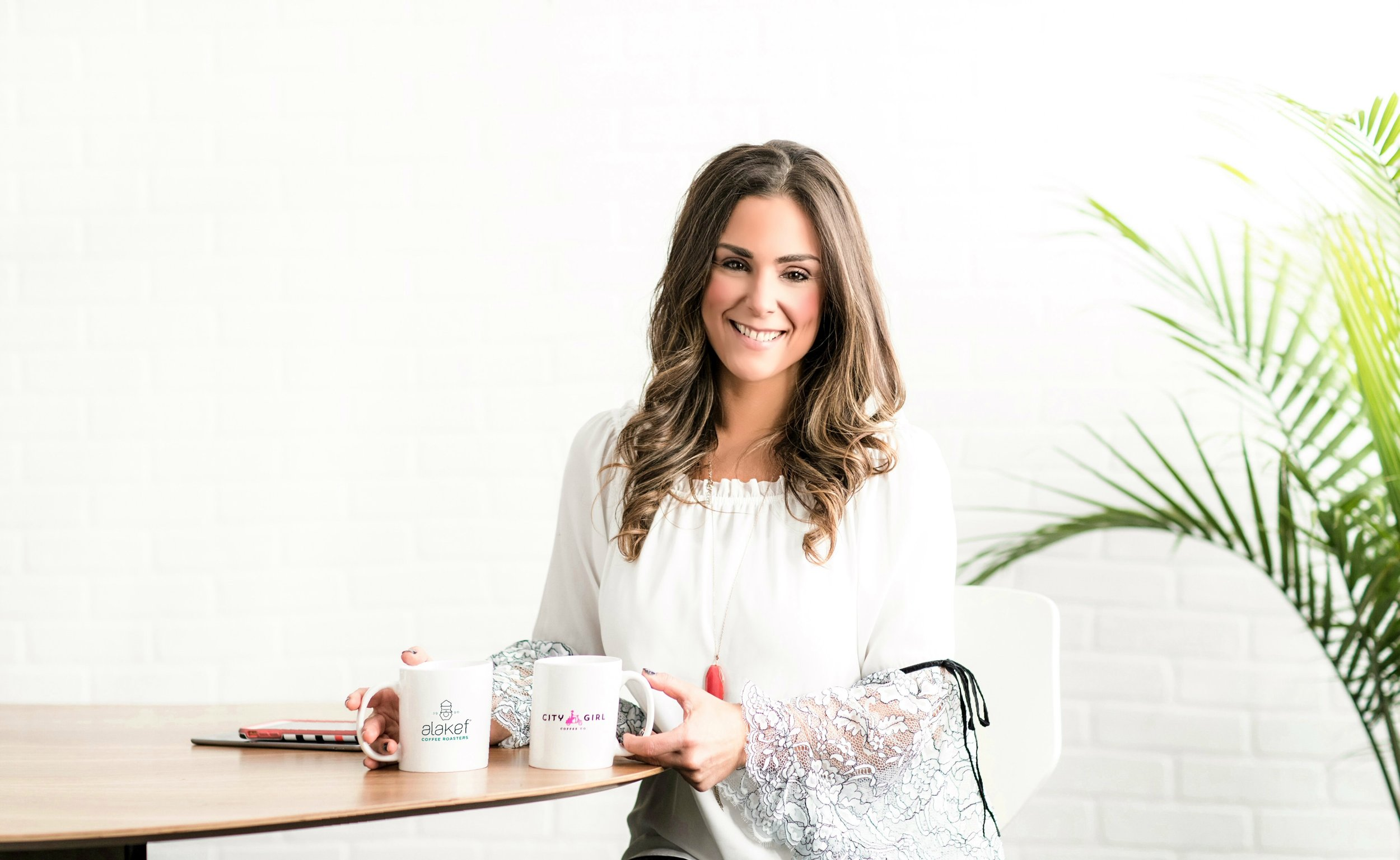 Alyza Bohbot, founder/owner of Duluth-based City Girl Coffee Co. and CEO/owner of Alakef Coffee Roasters. (Courtesy of Fresh Coast Collective)
