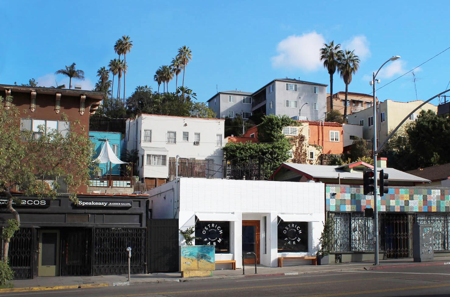 Ostrich Farm Restaurant Los Angeles