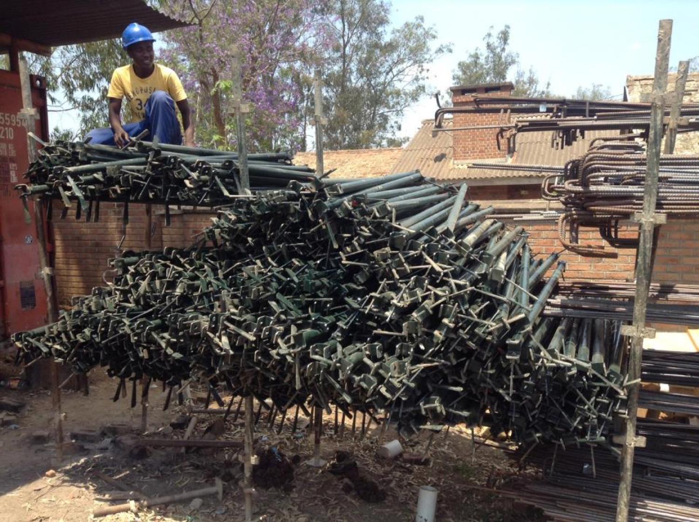Surveying scaffolding – September 2015