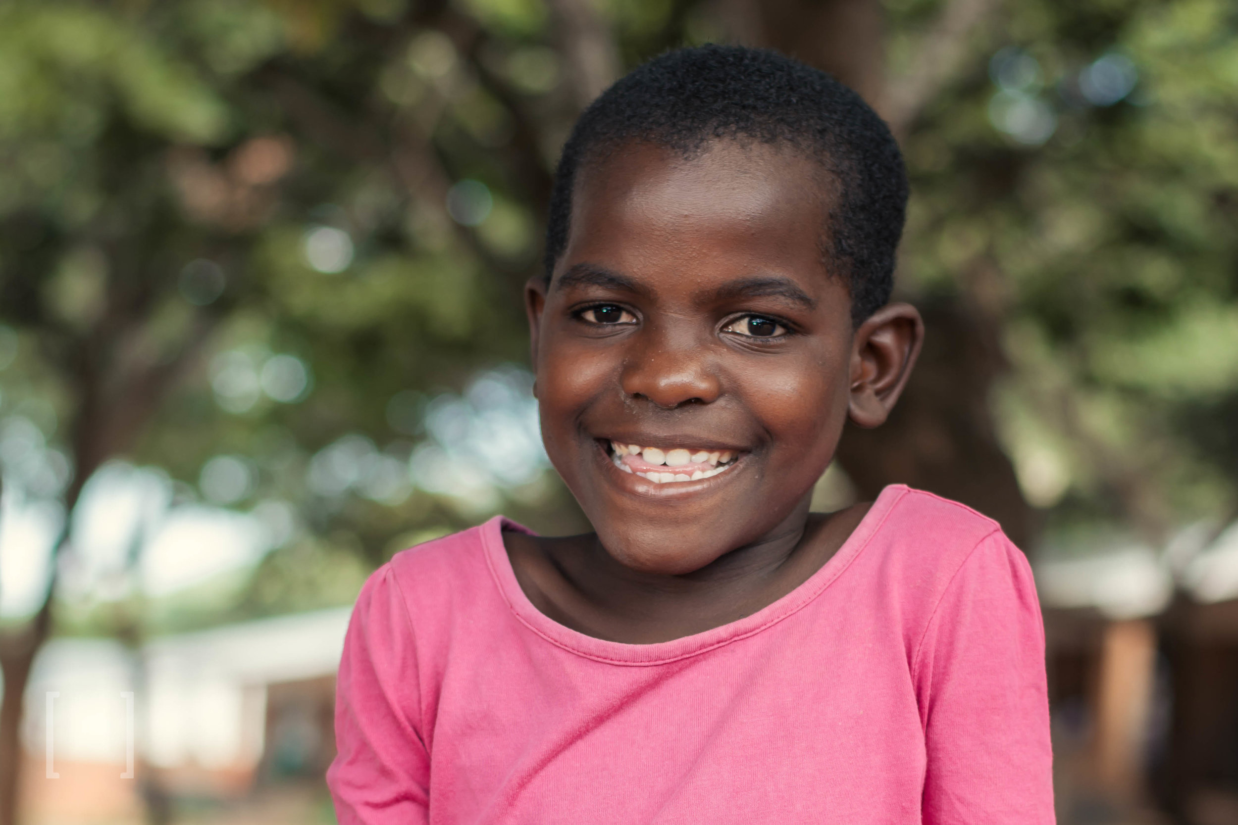 Nomsa - Nomsa was very malnourished and weak when she arrived to Home of Hope as a small child. She's now a strong and healthy 7-yr old. Be her champion!