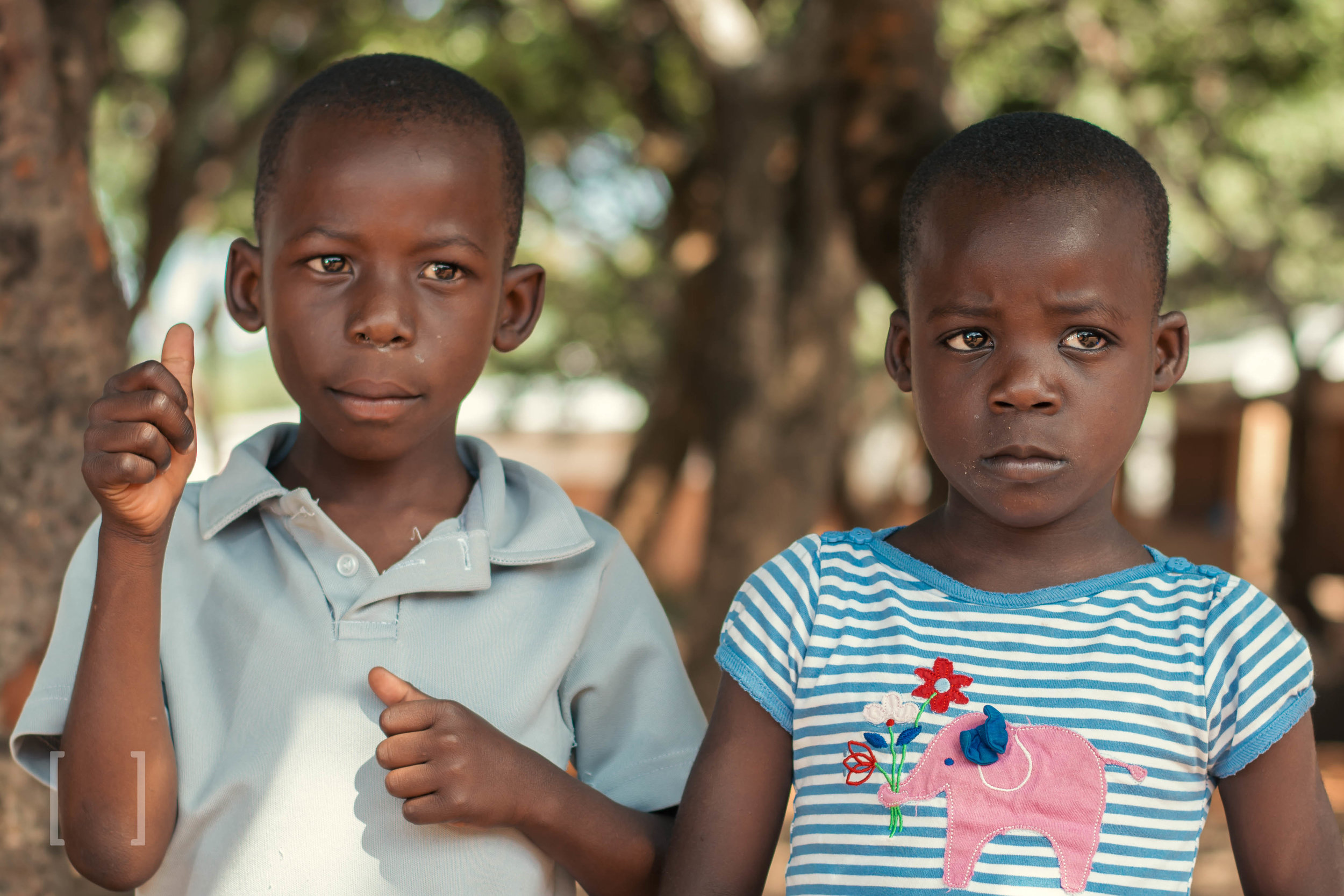 Andrew and Mary - Mary and Andrew are twins and came to Home of Hope after being on the Milk Outreach Program for one year. Their grandmother could not afford to look after them and admitted them for proper care. They are doing great! Reach out to them with a helping hand.