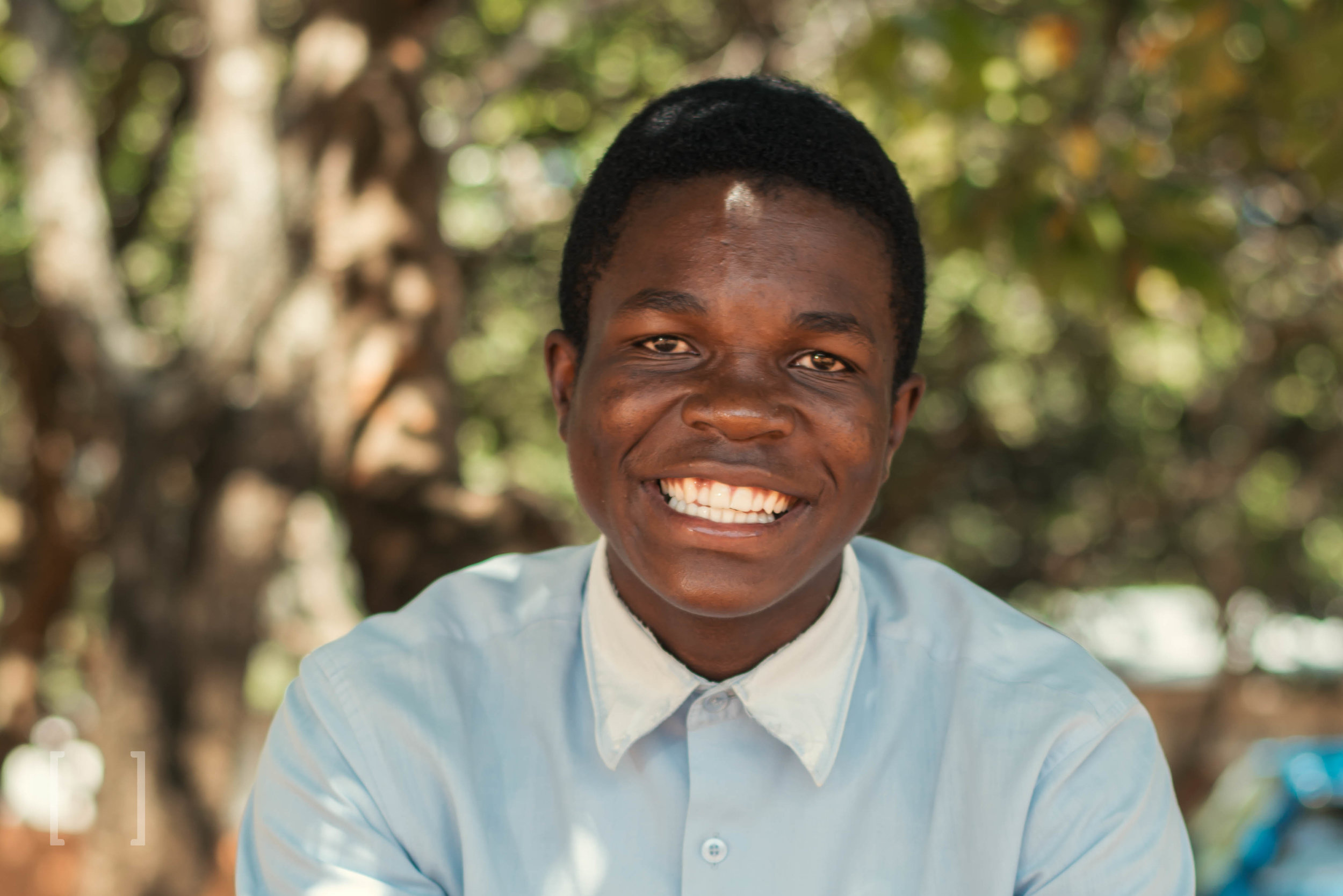 Emmanuel M. - Emmanuel likes playing soccer with friends during his free time. He is excelling in all subjects in school and wishes to become a police officer when he finish his education. Be his sponsor!