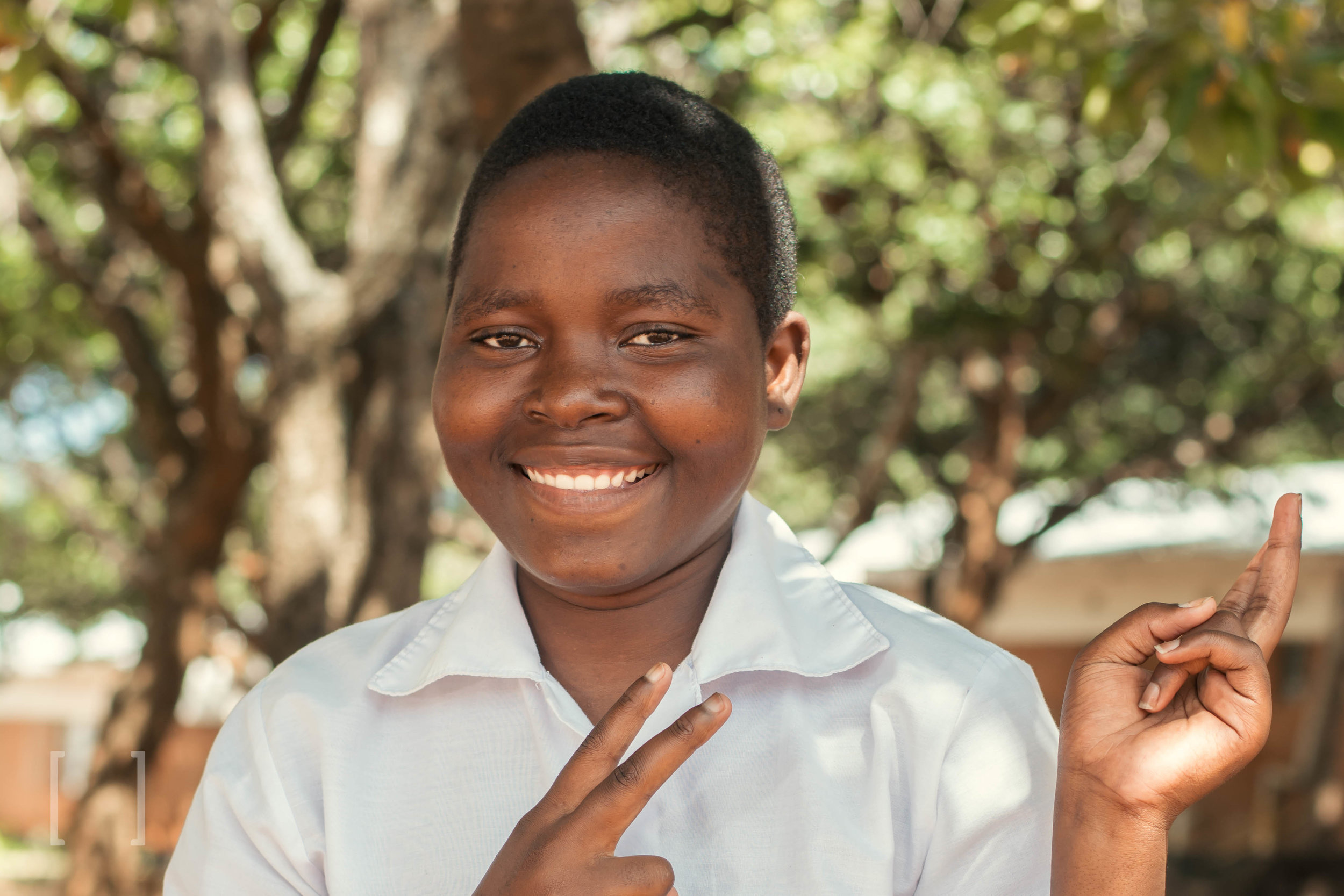 Ziwone - Ziwone was born on 9 October 2000. She lost her mother died during childbirth. She is doing well at Home of Hope and enjoys drawing and colouring. Ziwone would like to be a nurse one day. Support her on her educational journey!