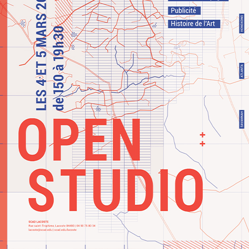 Open Studio Poster  Poster Design, 2016