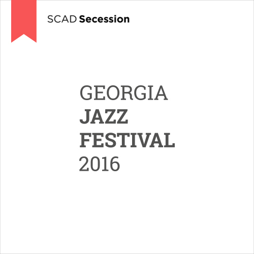 Georgia Jazz Festival 2016  Symbol Design, 2015