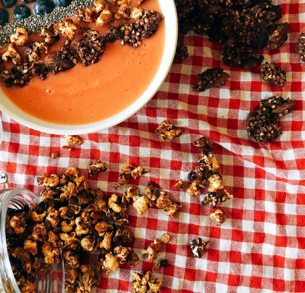 Popcorn Granola - Add a popping twist to your granola