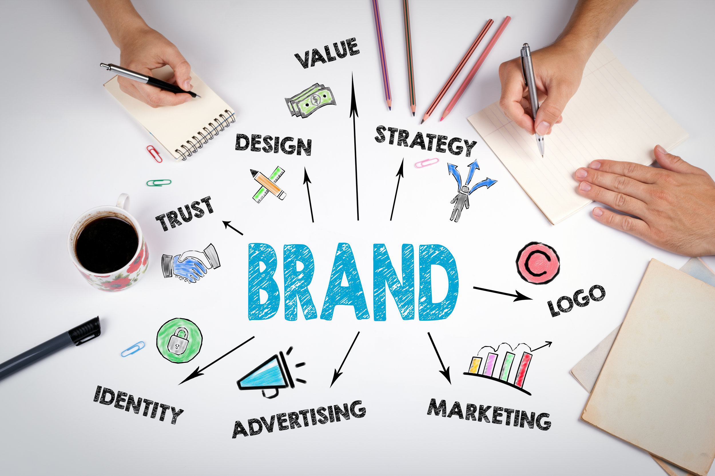 Brand Management - Consumers love and trust brands. A good brand identity enables you to stand out in the marketplace and positions you for a long term relationship with your clients. Let us help you craft an identity and message that supports this relationship.