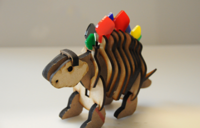 Pressfit Dinosaur