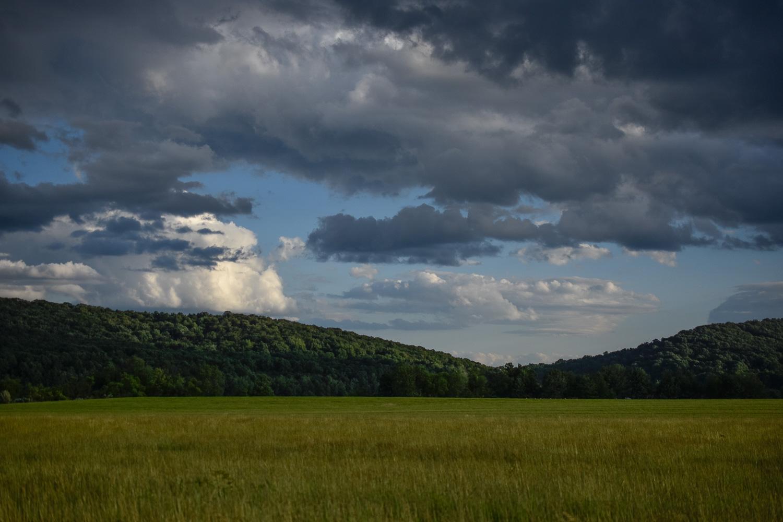 Double Rainbow , Middle Creek Wildlife Management Area, Lebanon-Lancaster Counties, Pennsylvania