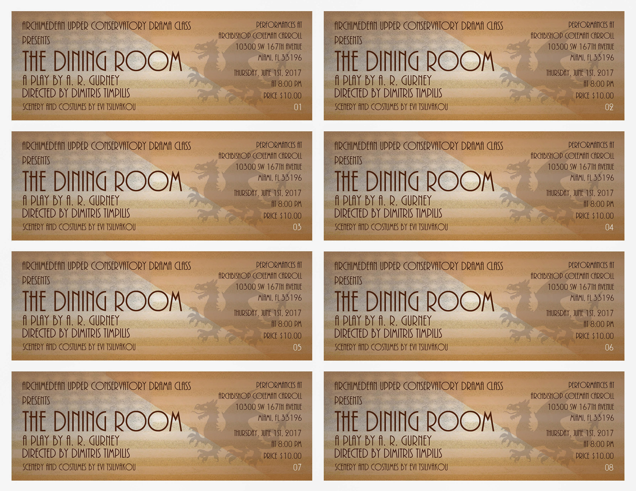 2017 The Dining Room by A. R. Gurney Jr. Tickets 1-8.jpg