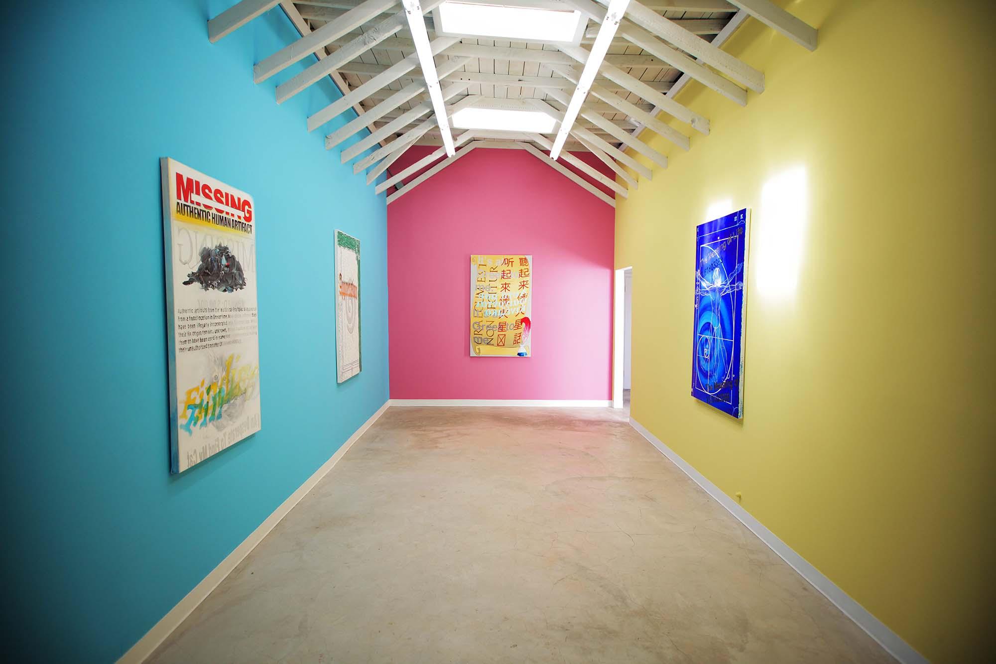 Rachel Lord,  Documental , installation view