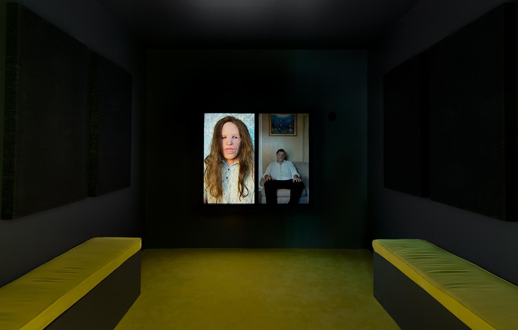 Gillian Wearing,  Fear and Loathing , installation view  Regen Projects, Los Angeles, 2014