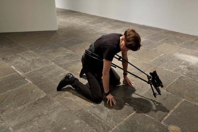 Xavier Cha,  Body Drama , 2011  Whitney Museum of American Art, (performance documentation), New York