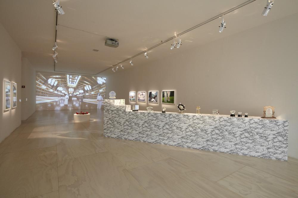 GCC,  Achievements in Retrospective , 2014, installation view  MoMA PS!, New York 2014