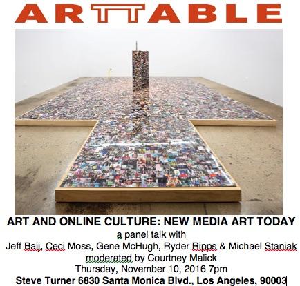Image: Ryder Ripps, Barbara Lee, 2016, installation view  Steve Turner Gallery, Los Angeles