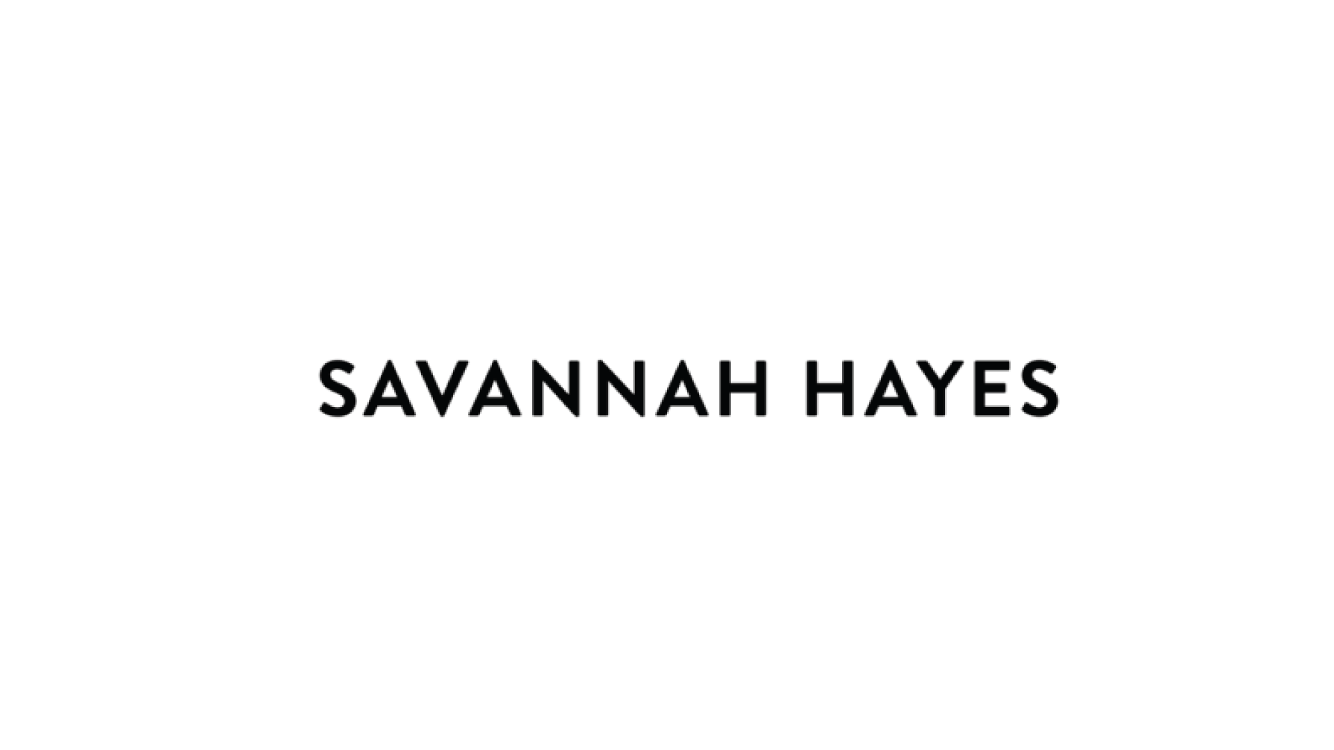 Savannah Hayes - https://savannahhayes.com/
