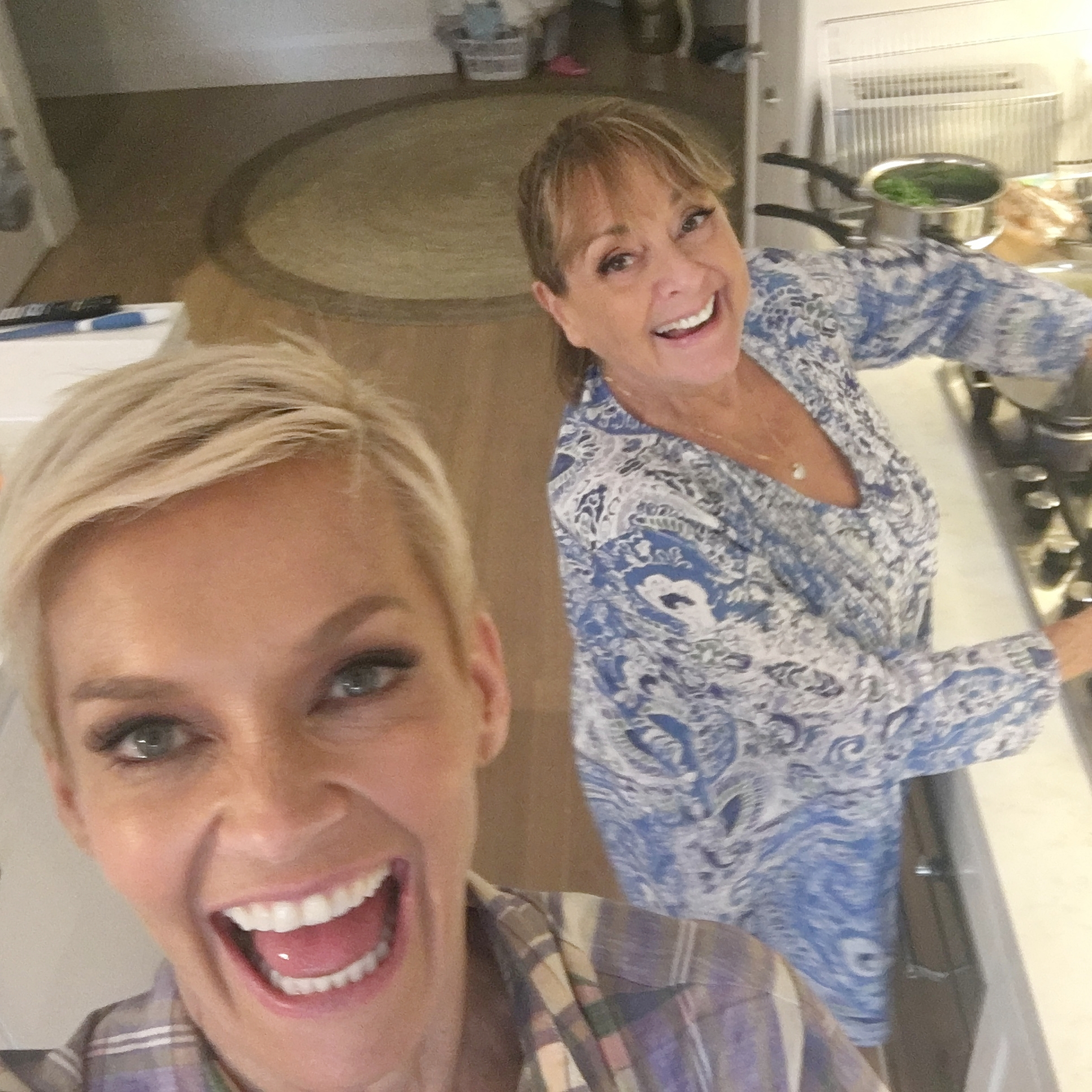 Cooking with Denise and panko!