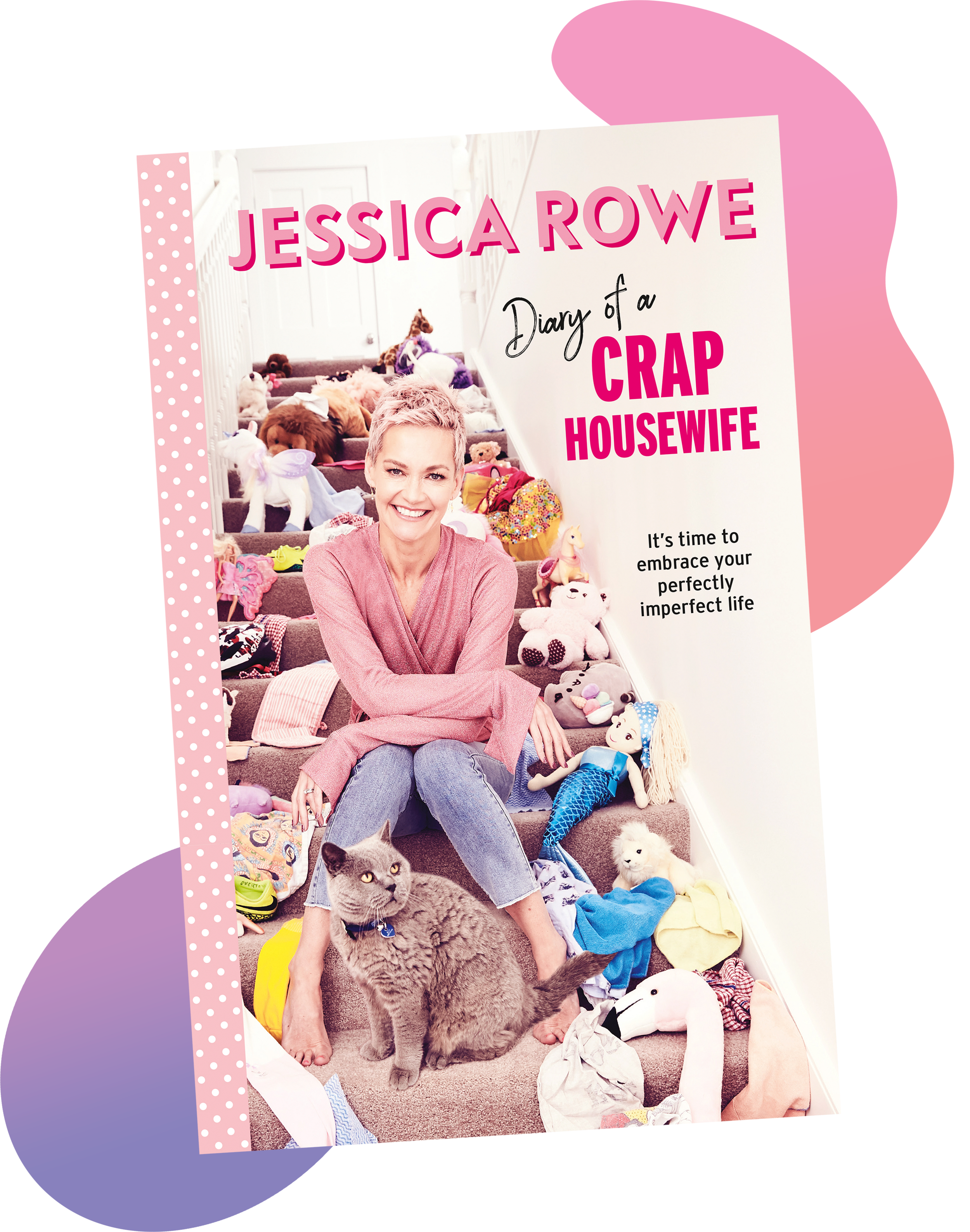 Diary of a Crap Housewife is available in-store and online from 1st April. -