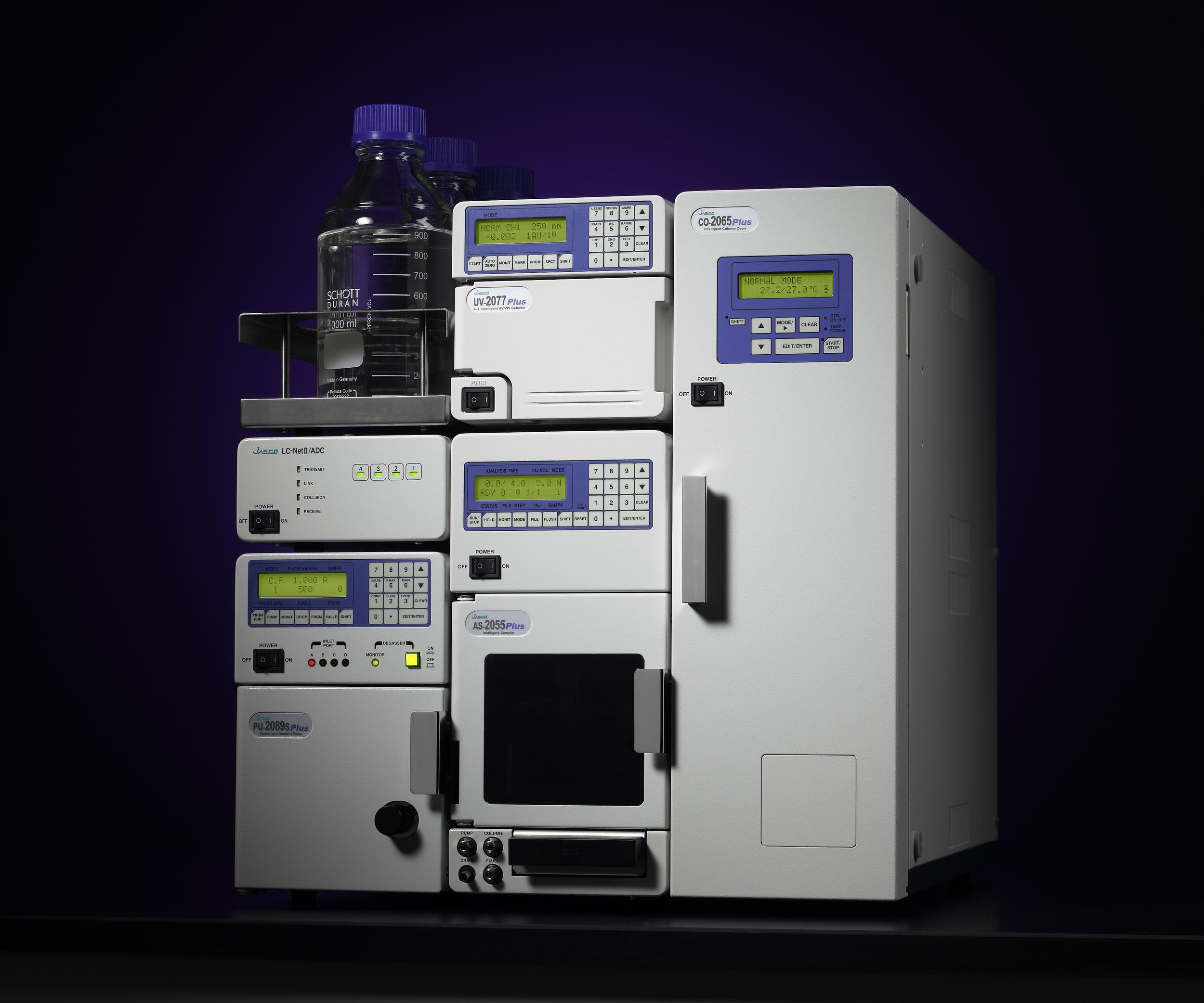 High performance liquid chromatographer can cost $30K USD used. (Jascobrasil,Wikimedia Commons)