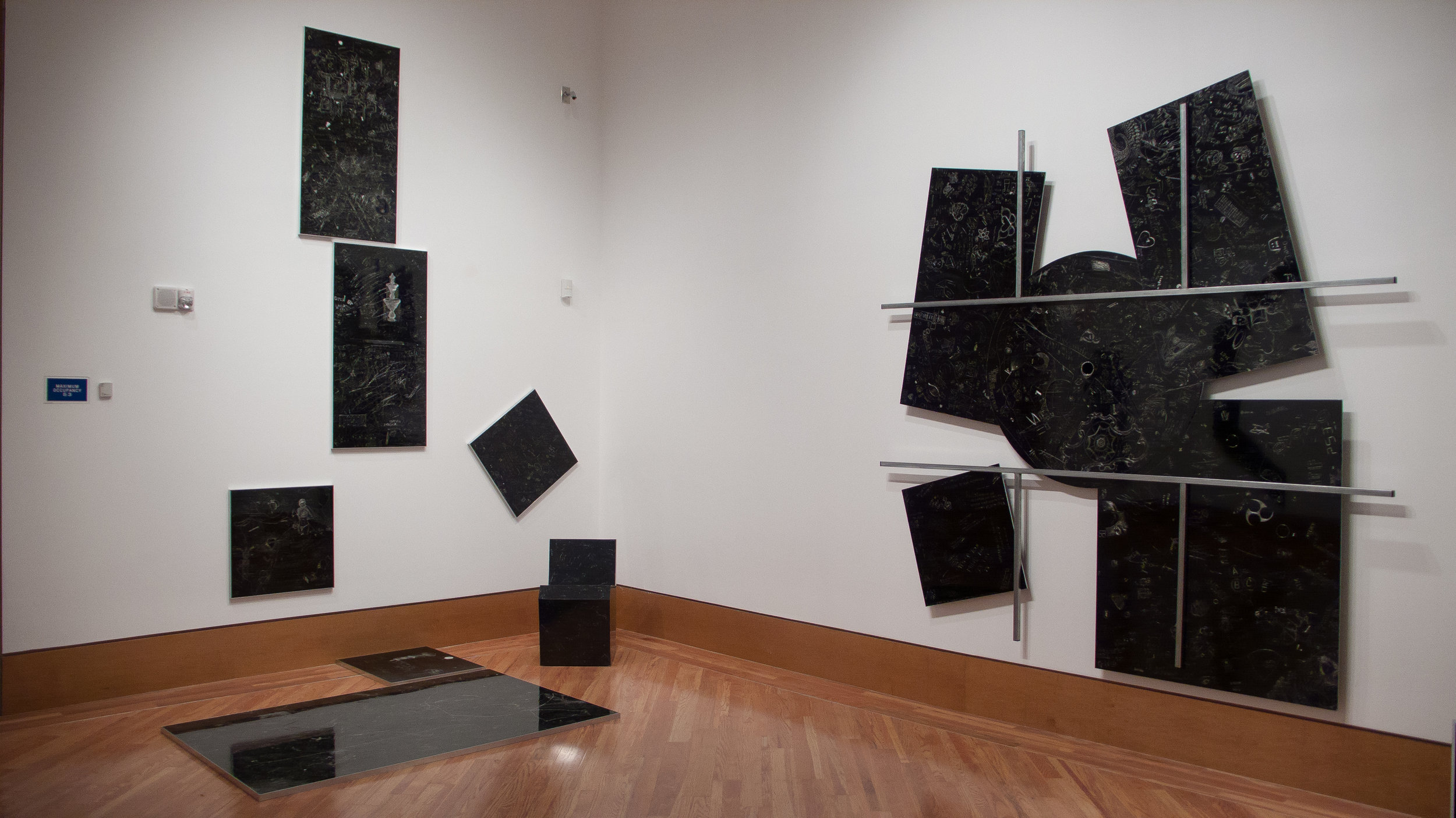 P.S., Installation view at the Frost Art Museum, Miami, FL. 2012
