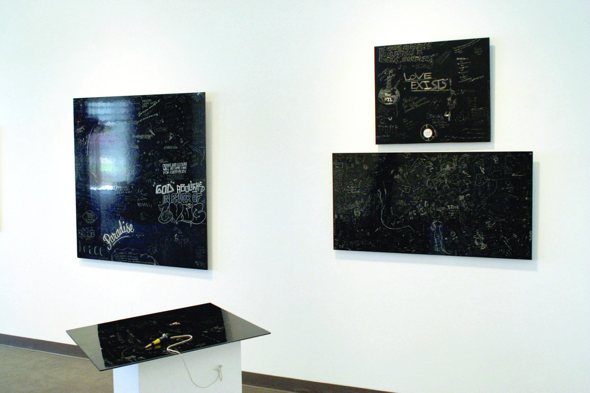 Sign Language w/ Juan Angel Chavez, University of San Antonio DT Galley, Curated by Kimberly Aubuchon, 2008