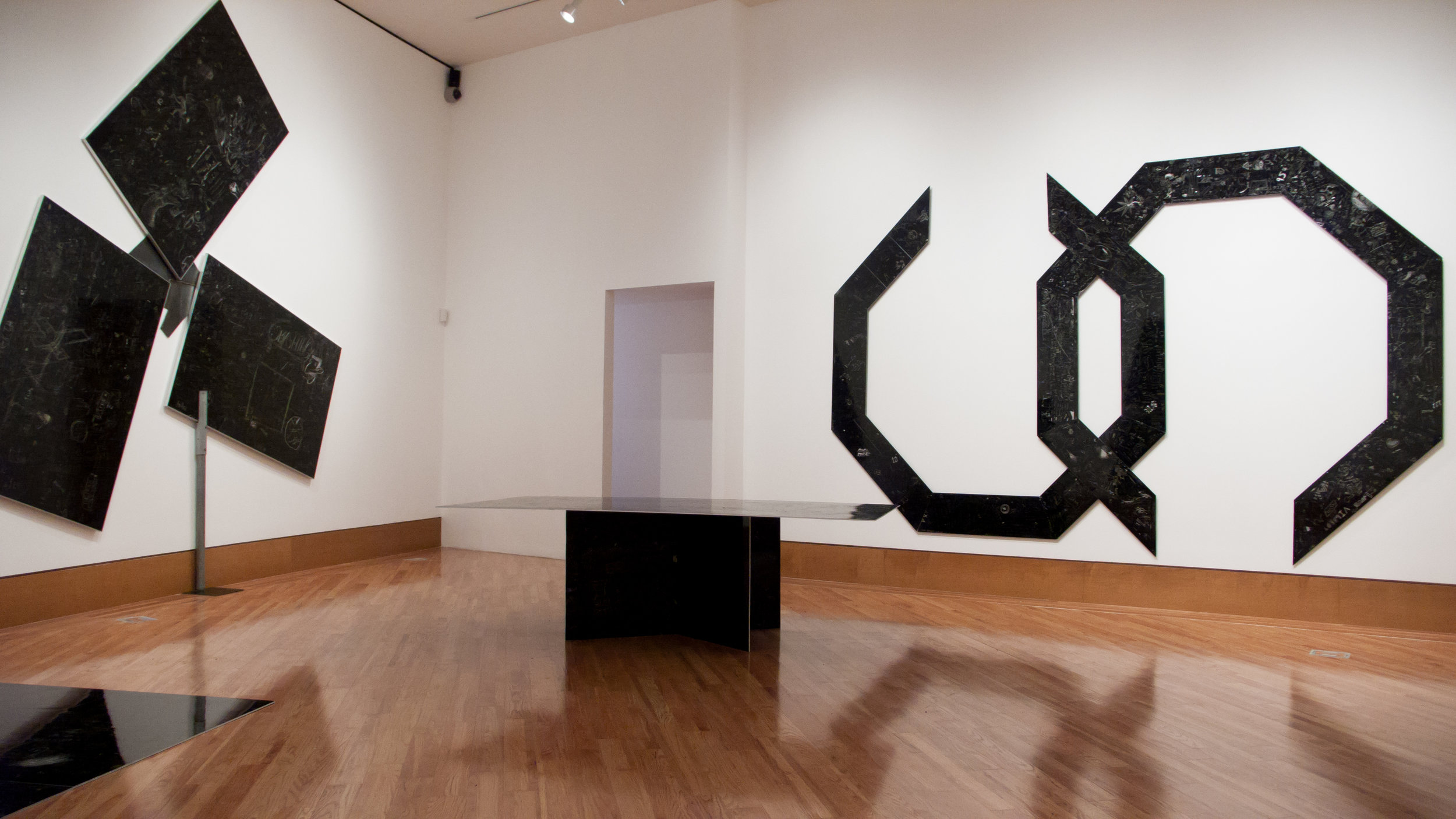 Installation view of P.S. at the Patrica and Phillip Frost Art Museum, 2012